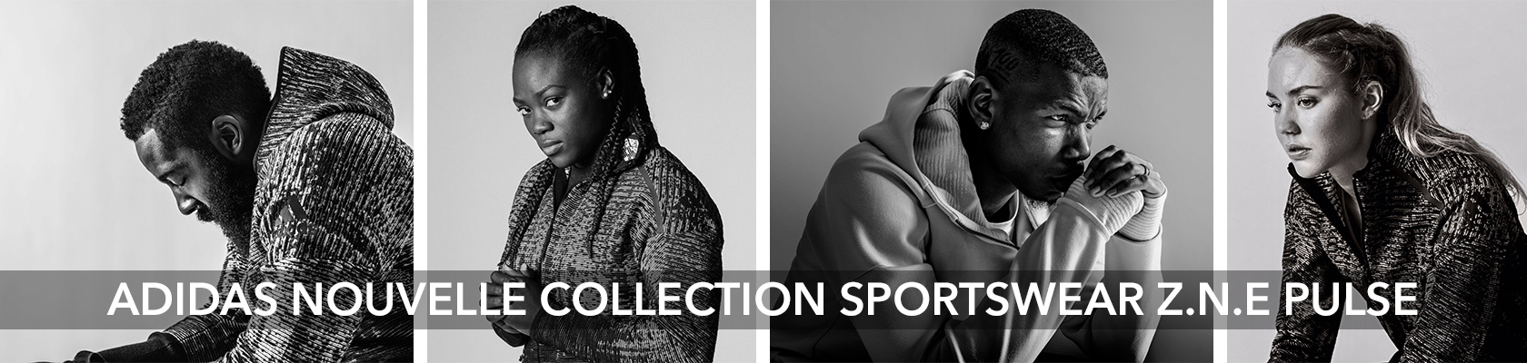 ADIDAS DÉVOILE SA NOUVELLE COLLECTION SPORTSWEAR ZNE PULSE